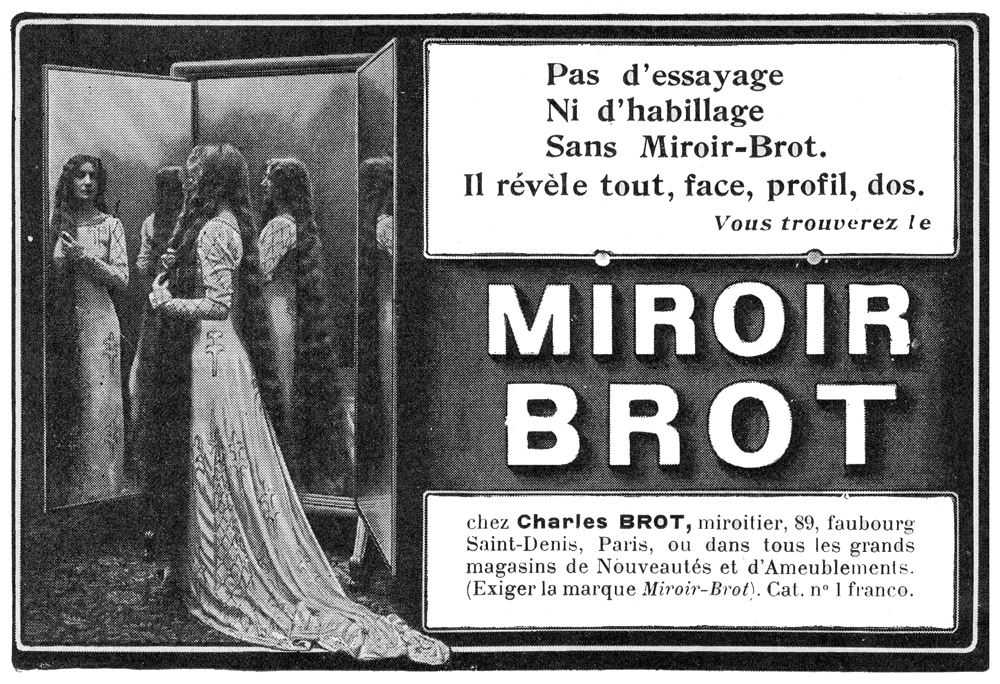 Mirrors for Miroir brot paris